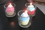 My daughter's new cupcake candles. The best way to enjoy cupcakes for me!
